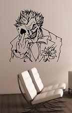 Joker Wall Decal Comics Superhero Vinyl Sticker Movie Art Room Bedroom Decor jk9