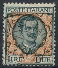 ITALIA 1917-23 SG n. 111, 2L MIRTILLO USATO #D 8855