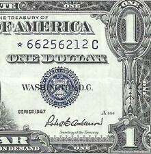 New Listing1957 $1 Blue Seal *Star* Silver Certificate! Old Us Paper Money Currency!