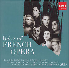 VOICES OF FRENCH OPERA  5 CDs, NEU