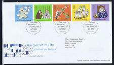 UK 2003 The Secret Of Life First Day Cover - Used - Adressed