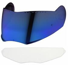 Schuberth SV1 Vista espejo azul + Pinlock para C3, C3 Pro, S2, 60-65