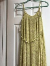Old Navy Maxi Dress Nude/yellow Nwt Medium***