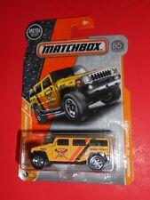 MATCHBOX HUMMER H2 SUV CONCEPT MBX CONSTRUCTION 8/20 SHIPS FREE