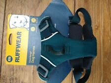 Ruffwear dog harness, Teal, reflective, adjustable XXS  excellent condition,