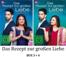 Das Rezept zur großen Liebe - Zindagi Ki Mehek BOX 3 + 4, 2x3 DVD NEU + OVP!