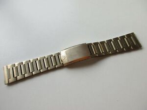 Waltham gold plated Champion watch bracelet 18.7 mm - used