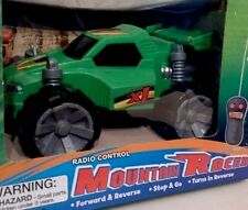 Radio Control Mountain Racer RC Car Green color  8 x 7 inch  New Ages 3+