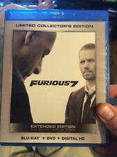 Furious 7 Bluray/DVD/DIGITAL HD with Wal-Mart Exclusive Bonus Content