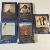 Elektra / Asylum Rare sealed 8 Track Stereo Lot Of 5 Tapes