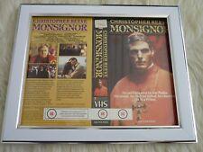 Cubierta de Manga Vhs Original Enmarcado caja pequeña Christopher Reeve monseñor CBS/Fox