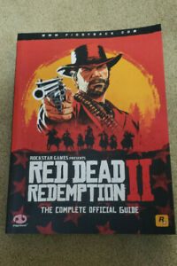 Red Dead Redemption 2 The Complete Official Guide Book Strategy Piggyback Rare