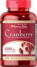 Cranberry Fruit Concentrate with C & E 4200mg x 250 Softgels