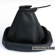 Opel Zafira A Bj 99 Schaltsack Schaltmanschette aus Echtes Leder für Schaltknauf