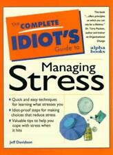 C I G:to Handling Stress: Complete Idiot's Guide (Complete Idiot's Guides),Jeff