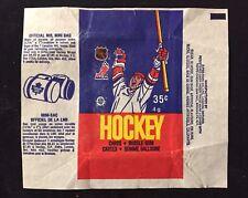 1986-87 OPC NHL HOCKEY WAX PACK WRAPPER - 1 SMALL TEAR - O-PEE-CHEE CANADA