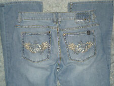 "Men's Buffalo ""Kenny"" Jeans sz 32 x 31 Embroidered"