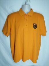 Hugo Boss Mens Golf Polo Shirt Orange Tavistock Cup Logo Embroidered XL