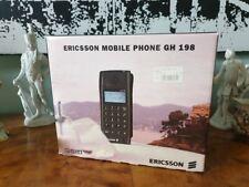 Vintage Handy - Ericsson GH 198 mit Zubehör und original Karton OVP