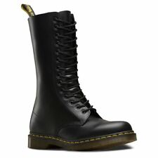 Dr.martens 1914z Black Smooth Leather Womens BOOTS 6