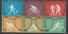 OLYMPICS : 1964 LIBYA Olympics Games set  PERF SG 321-6 never-hinged mint