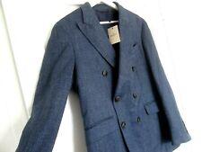 """NWT Men's HACKETT MAYFAIR LORO PIANA Wool + Silk + Linen Blend Blazer. 38"""" Chest"""