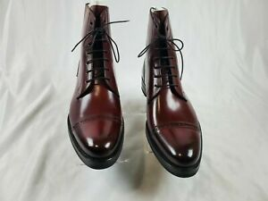 NEW Paul Evans – 'Pressley' Lace-Up Boots – Oxblood 10D US