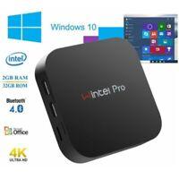 OS Windows 10 Intel Atom 1.44Ghz Z8300 2GB/32GB Wifi BT4.0 RJ45 Mini PC Computer
