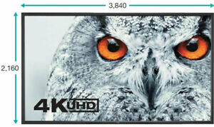 """NEC Multisync X981 UHD-2 98"""" 4K Display Panel  Multi Screen PIP 4XHDMI 60004106"""