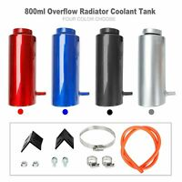 800ml Universal Radiator Coolant Aluminum Tank Overflow Reservoir