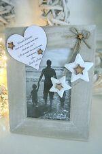 Personalised Photo Frame Gift Keepsake Christmas Birthday Anniversary F32