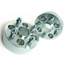 2 Pcs 50MM Wheel Spacers Adapters | 4X100 | 54.1 CB | 12X1.5 For Escort Corolla