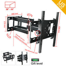 "Plasma Wall Mount TV Bracket 27 30 32 37 40 42 46 47 50 55"" LED LCD Cantilever"