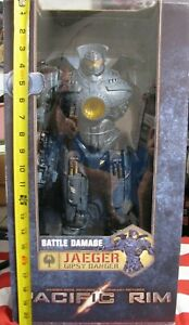 "Pacific Rim 18"" Jaeger Gipsy Danger Battle Damage"