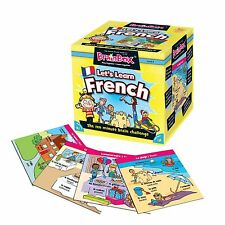 BrainBox Lets Learn French - Educational Memory Game - The Green Board Game Co.