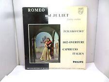 ROMEO AND JULIET FANTASY OVERTURE TCHAIKOVSKY SBL5217 PHILIPS  VINYL LP