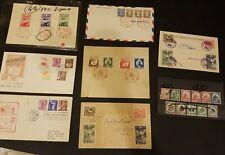 Japan Postcards, Stamps, FDC