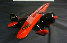 1932 Lockheed Vega Vintage Indian Airplane Diecast Scale 1:32 Coin Bank #1 New