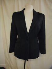 "Ladies Suit Jacket Debenhams UK 10 black polyester, bust 34"" length 27"", 7397"