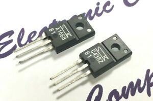 1pair - SANKEN 2SA1668 & 2SC4382 200V 2A 25W Transistor - Genuine