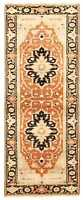 """Vintage Hand-Knotted Carpet 2'7"""" x 8'1"""" Traditional Oriental Wool Area Rug"""