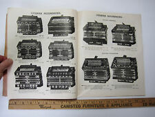 RARE c1890 Original Catalog Century Music Instruments Accordian Banjo Hamonica +