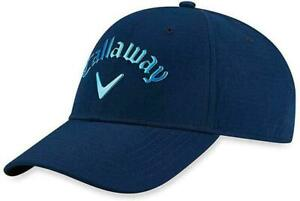 Callaway Golf Liquid Metal Adjustable Cap Hat  - Navy  Adjustable