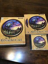 Asheron's Call Pc Game Cd-Rom Big Box Game Complete Windows 95 98 1999