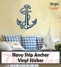 Navy Ship Anchor Vinyl Sticker