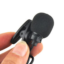 Mini 3.5mm Lapel Tie Clip-on Lavalier Microphone Mic for Sennheiser Transmitters