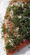 Gebeizter Lachs mit Dill  1,1 kg
