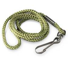Multipurpose Utility ID Card Nylon Belt Neck Cord Lanyard w/ Hook Clip Green NEW