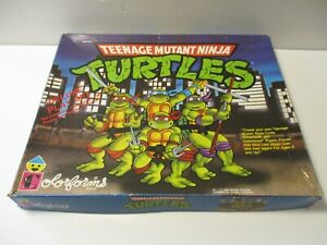 Vintage 1990 Teenage Mutant Ninja Turtles TMNT Deluxe Playset Colorforms