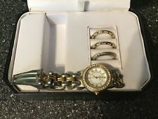 Anne klein watch with removable different faces